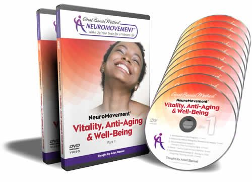 Vitality and Anti-Aging NeuroMovement Exercises