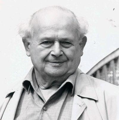 Moshe Feldenkrais - Anat Baniel mentor