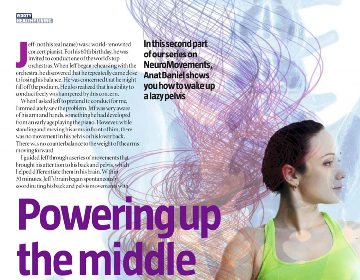 Powering up the Middle by Anat Baniel