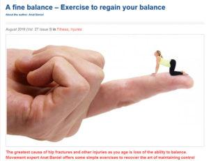 A Fine Balance by Anat Baniel