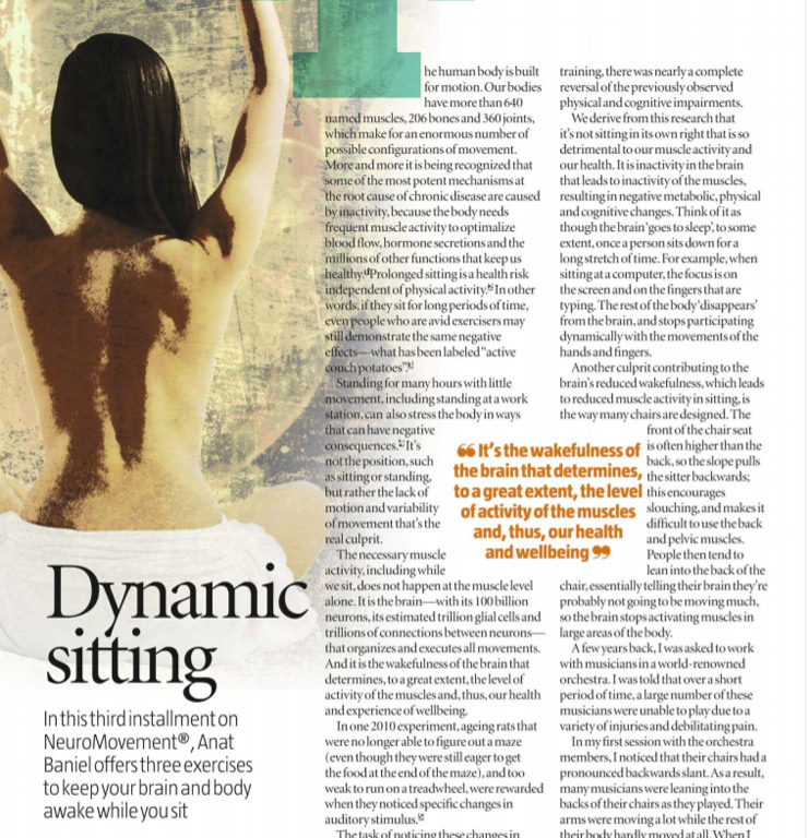 Dynamic Sitting by Anat Baniel
