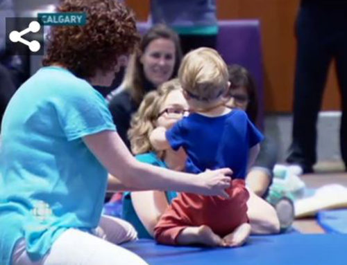 CBC News Alberta, Canada, Features Anat Baniel and Children with Special Needs Workshop