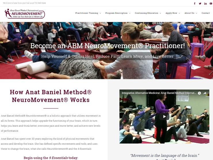 NEW practitioner training website