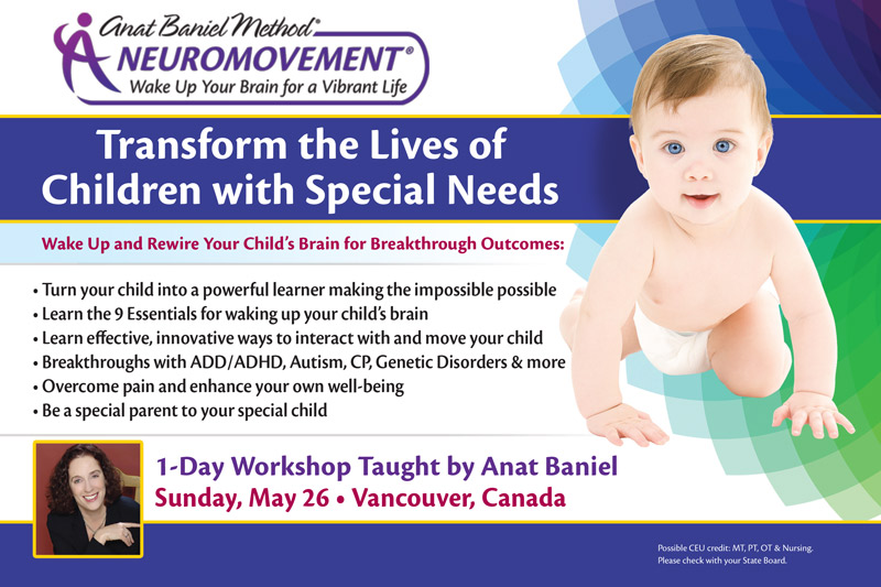 Vancouver NeuroMovement workshop 2019