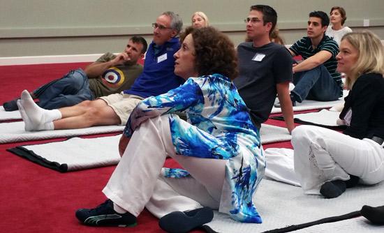 Anat Baniel in High Performers workshop