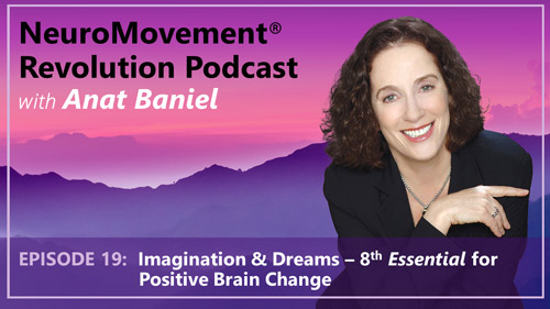 Episode 19 Imagination & Dreams 8th Essential for Positive Brain Change