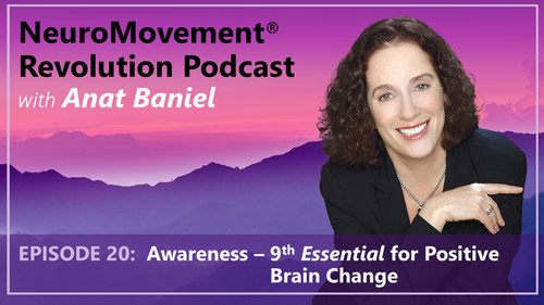 Episode 20 Awareness 9th Essential for Positive Brain Change