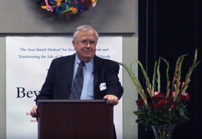 Michael Merzenich at Kids Beyond Limits launch