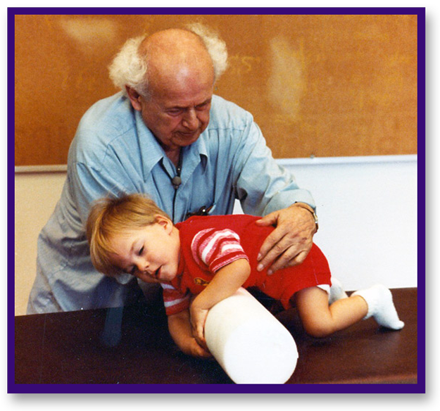 Feldenkrais working with a child