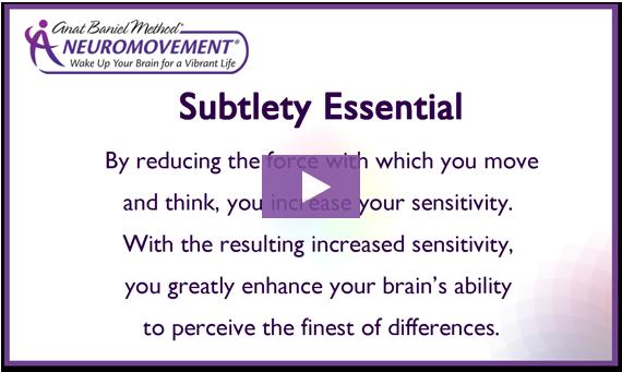Subtlety Essential video intro